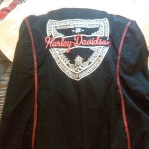 Womens harley Davidson top